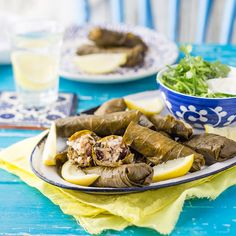 Dolmades is a Greek dish made healthy. Make it as a starter or side dish.
