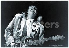 Stevie Ray Vaughn- 1954-1990 People Poster - 84 x 58 cm