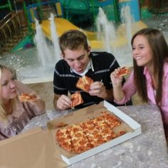 Pizza from Tiki Tom's Oasis & Grill..YUM!!!