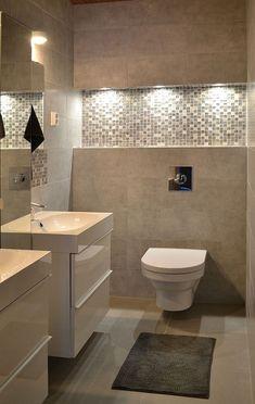 Weiche Töne im Badezimmer innenräume von decom: #badezimmer #decom #innenraume #weiche