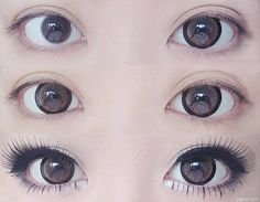 Brown circle lens for your natural style, try this ulzzang makeup http://www.uniqso.com/big-eyes-circle-lenses/brown-circle-lenses/geo-hc102-hurricane-hazel?search=codi?route=common/home&tracking=5445203d7f079