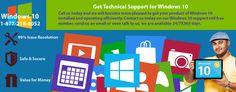Microsoft Windows 10 Tech Support