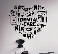 Resultado de imagen de vinilos decorativos para consultorio dental