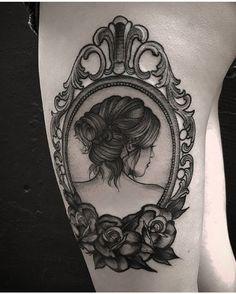 tattoo porta retrato vintage #inspirationtatto Tatuador fetattooer