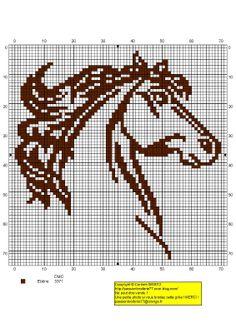 #gráfico ponto cruz #ponto cruz #cavalo contours-marrons.jpg