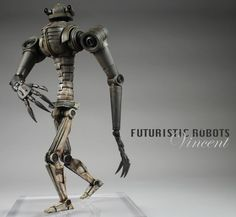 Robot, like the design of his body but isn't child frienly