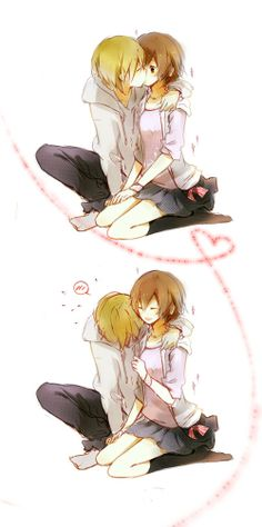 anime couples <3