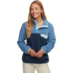 Synchilla Leichter Snap-T Fleecepullover - Damen Patagonia Synchilla Jacket, Patagonia Fleece Pullover, Patagonia Brand, Patagonia Outfit, Patagonia Clothing, Outfits For Teens, Cute Outfits, School Outfits, Amigurumi