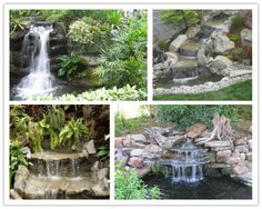 How To Build A Garden Waterfall Pond