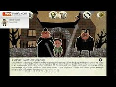 Interactive book:  Oliver Twist by Secret Attic [ages:5+, iPhone/iPad]