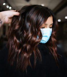 Hair Color Pink, Hair Color For Black Hair, Cool Hair Color, Brown Hair Colors, New Hair Colors, Blonde Color, Hair Color And Cuts, Dark Hair Style, Black Hair With Ombre