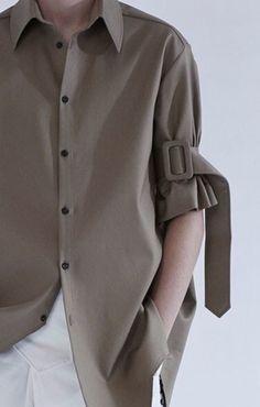 Minimalist button up shirt