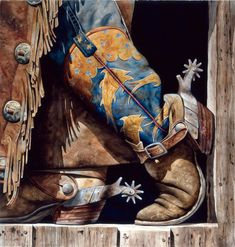 For more country/western inspiration, visit www.broncobills.co.uk