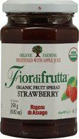 Rigoni Di Asiago Fiordifrutta Organic Fruit Spread,  Strawberry,  8.82 Ounce - http://goodvibeorganics.com/rigoni-di-asiago-fiordifrutta-organic-fruit-spread-strawberry-8-82-ounce/
