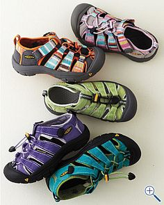 Keens.  Our casual, dressy, indoor, outdoor shoe choice of the summer.