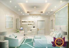 Light Green Bedroom Furniture in Dubai Light Green Bedrooms, Bedroom Green, Inside Mansions, Mansion Bedroom, Bedroom Furniture, Behance, Architecture, Bed Furniture, Arquitetura