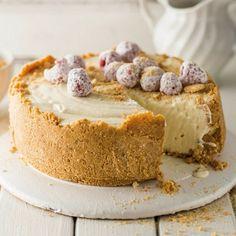 Witsjokolade-cremora-tert Tart Recipes, Cheesecake Recipes, My Recipes, Sweet Recipes, Baking Recipes, Favorite Recipes, Eggless Recipes, Baking Desserts, Curry Recipes