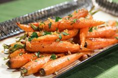 Daphne Oz's Ginger Glazed Carrots recipe. #thechew