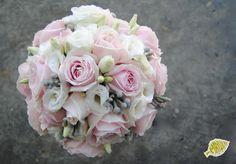 Ramo de novia vintage rosa nude