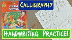 Handwriting Practice: Beginning Cursive!