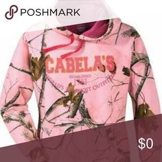Not selling. Just searching Pink camo cabela's sweatshirt Sweaters Cardigans