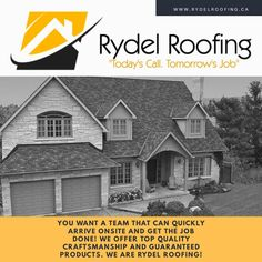 We are Rydel Roofing!!!  In need of a new roof or repair? Contact Rydel Roofing, offering top quality craftsmanship & guaranteed products.   6136568606 www.rydelroofing.ca Social Media, Products, Tops, Social Networks, Tank Tops, Social Media Tips, Blouses