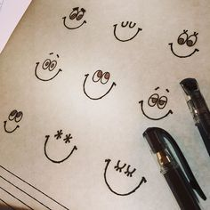 Drawing Wonder • 8月は今日が最後なんですね。 もう少し長くてもいいのにな。 9月もどうぞよろしくお願いしまーす! Doodle Drawings, Easy Drawings, Doodle Art, Learn To Draw, How To Draw Hands, Sketch Note, Birthday Cards, Happy Birthday, Message Card