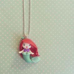 Joli collier Princesse - Princesse Ariel : Collier par madame-manon