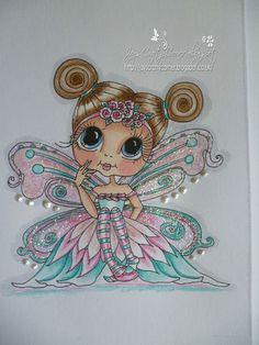 Very Cute Sherri Baldy Bestie Topper,Cute As Saturated Canary & Magnolia Tilda | eBay