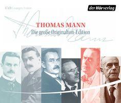 "Hörbuch: Thomas Mann ""Die große Original-Edition"""