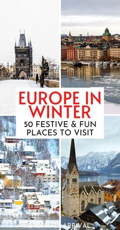 Want to spend winter in Europe? Here are 50 places to visit in Europe in winter, recommended by travel experts. Winter in Europe travel | winter city breaks in Europe | best winter destinations in Europe | Europe winter destination | winter breaks in Europe | Europe in the winter | Christmas in Europe | Europe in December | Europe in January | Europe in November | Europe in February | winter Europe travel | Europe winter trip ideas | Europe winter bucket list | Europe travel | winter travel Christmas In Europe, Christmas Travel, Christmas Trips, Christmas Markets, Winter Christmas, Cool Places To Visit, Places To Travel, Travel Destinations, Places To Go