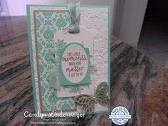 Carolyn's Card Creations: Stamp Ink Paper Challenge #2 - Sketch Challenge
