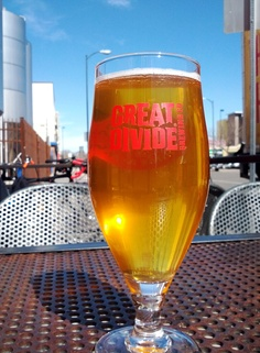 Great Divide Damon Zwickel, outside, at the brewery in Denver, March 16th 2012. Perfect!