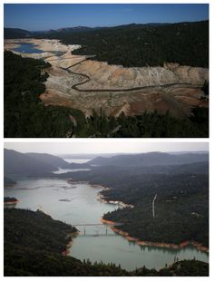 Before and After Photos of California Drought | POPSUGAR News