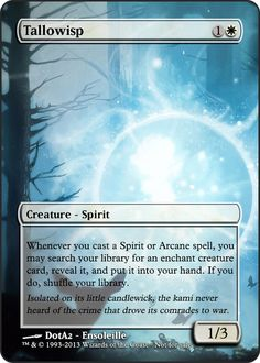Magic the Gathering - Tallowisp by ASliceOfUnagi