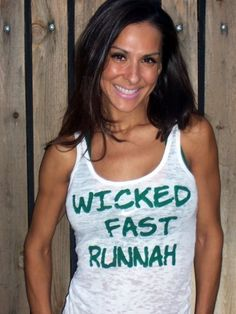 Boston Marathon  Wicked Fast Runnah  by FiredaughterClothing, $30.00