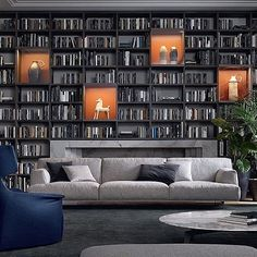 Love books and need somewhere to display them? This is a great solution. Gorgeous. . . . . #homedecor #inspiration #style #interiordesign #beautiful #instagood #oakville #mississauga #milton #burlington #ORM #bookshelves #art #desk #gotbooks #custom #reading
