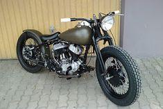 Meine Harley WLD 1938 im Bobber-style ist beinahe fertig. . .