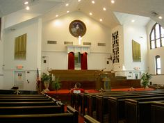 baptist church interiors photo