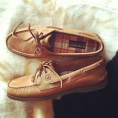 I can't remember the last time my Sperry's looked this new.