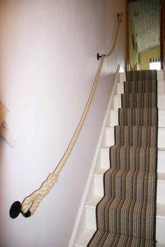 Best 1000 Images About Rope Banisters For Stairs On Pinterest 640 x 480