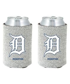 Love this Detroit Tigers Glitter Can Sleeve by Kolder on #zulily! #zulilyfinds