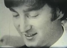We All Live In A Yellow Submarine,Yellow Submarine — im-dizzy-miss-lizzy:   John Lennon's smile is the...