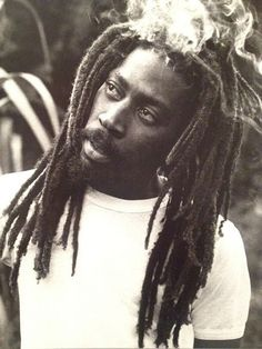 *Bunny Wailer* Hectors River, Portland, Jamaica, 1978. On his farm. More fantastic pictures and videos of *The Wailers* on: https://de.pinterest.com/ReggaeHeart/ ©Adrian Boot/ urbanimage.tv