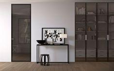 Garderoby szklane - EKO-DAR - drzwi włoskie, podłogi, Gdańsk i Gdynia