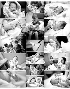 newborn photos taken in hospital