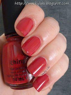 China Glaze - Adventure Red-y