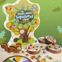 The Sneaky Snacky Squirrel Game.  A fun group game exercising colour recognition and fine motor skills. Ages: 3+ RM 124.50