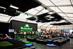 Heineken Open'er Festival Poland 2012, vip zone, design and production Horeca Group
