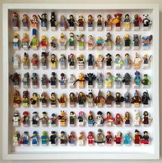 LEGO Action Figure Display Case 3